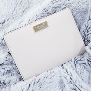 Kate Spade Saffiano Ivory Bifold Wallet